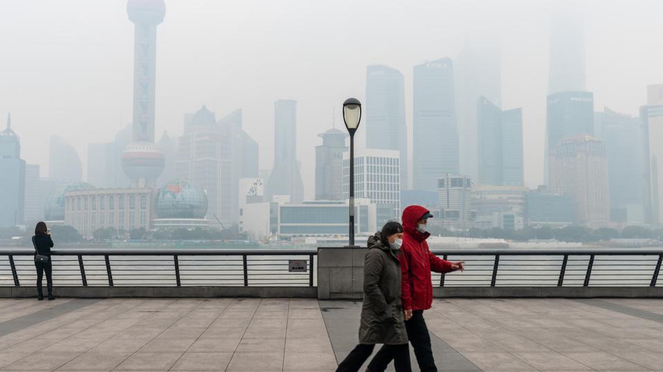 CHINA SHANGHAI WINTER SMOG