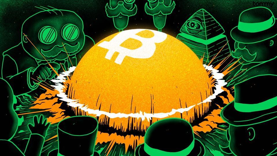 Bitcoin bubble.
