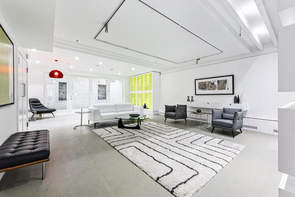 living room inside 104 Charlton Street, Apt 2W, New York, NY manhattan apartment