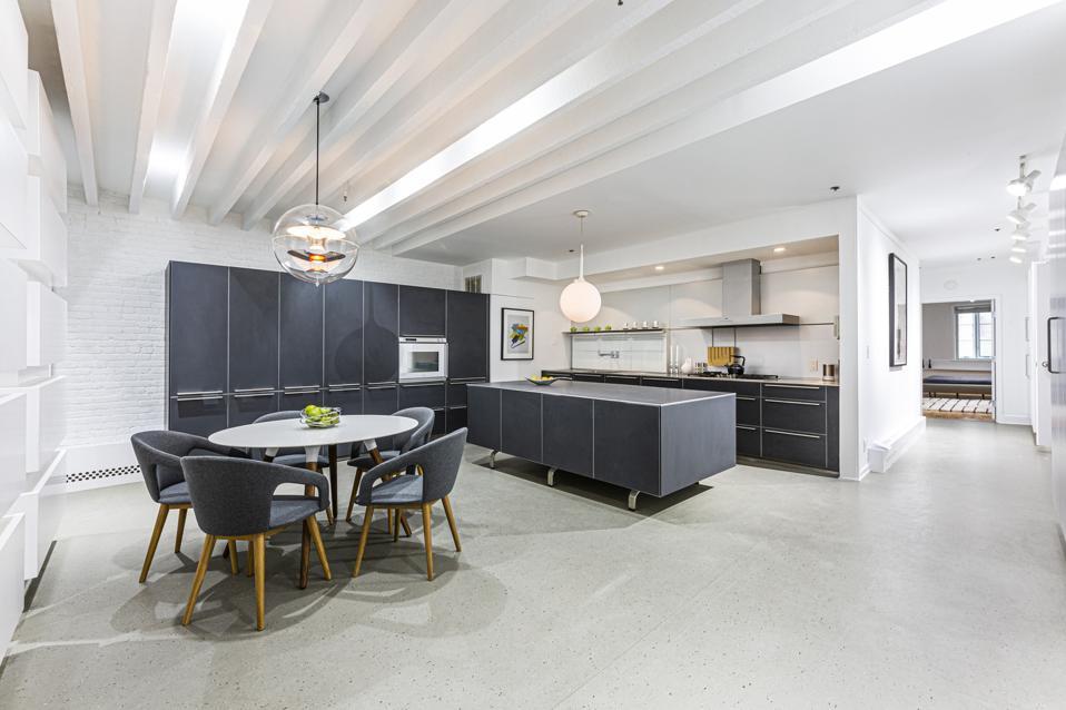 kitchen in manhattan apartment 104 Charlton Street, Apt 2W, new york city