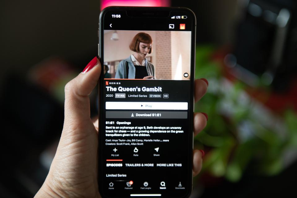 Netflix Illustrations As Streaming Service Hits Record