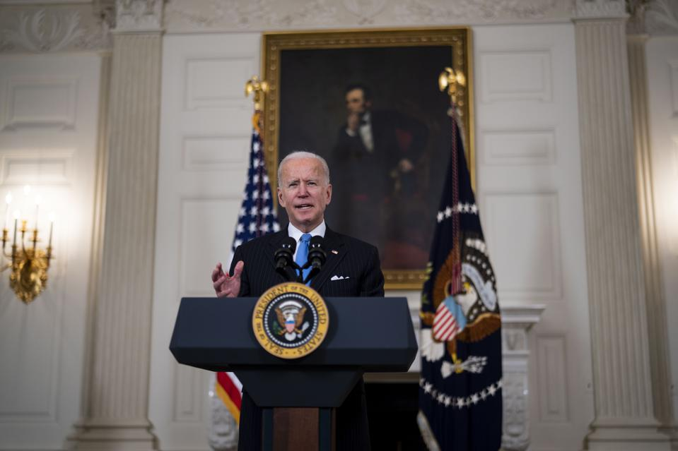 President Joe Biden has agreed to narrow eligibility for a new round of $1,400 stimulus payments.
