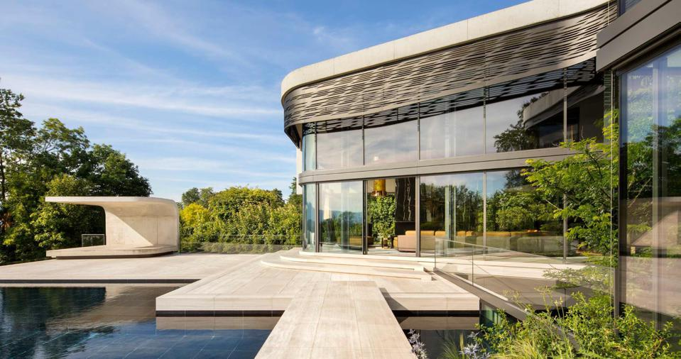 exterior screens villa courbe switzerland saota architecture cologny