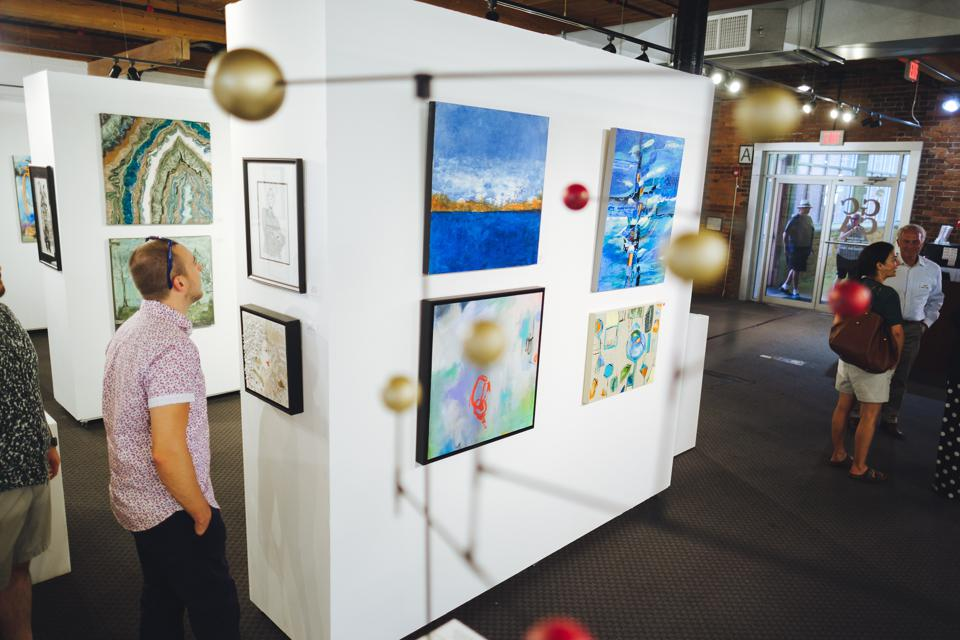 The Greenville Center for Creative Arts Annual Showcase Member Show.