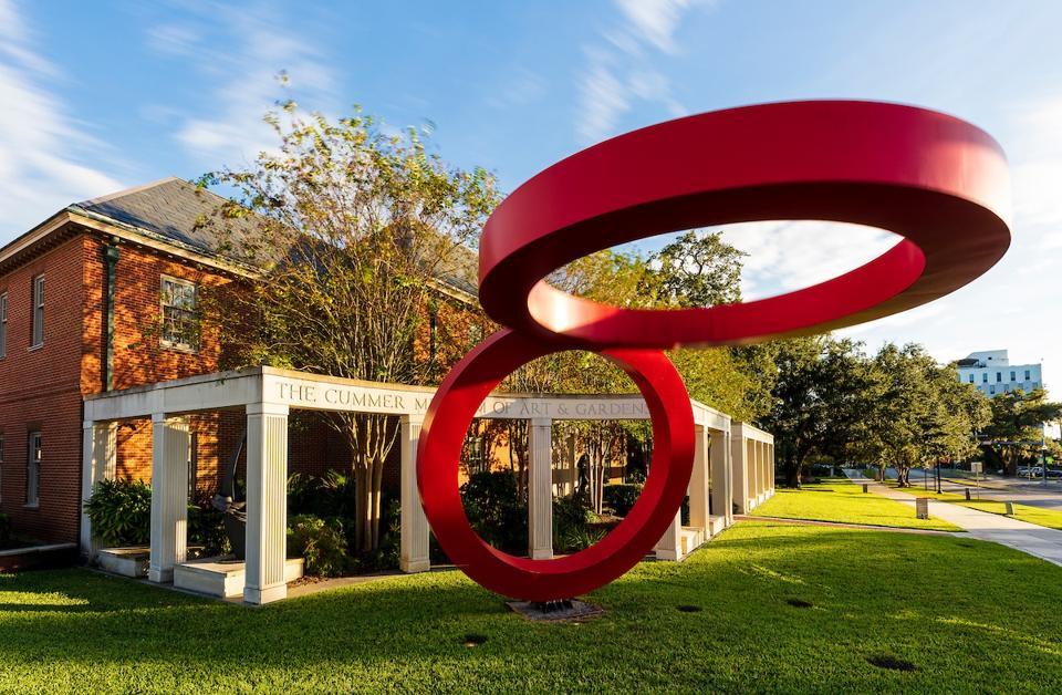 The Cummer Museum of Art and Gardens in Jacksonville, FL.