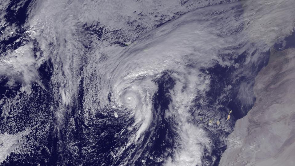 Winter Storm Alex Upgraded to Hurricane