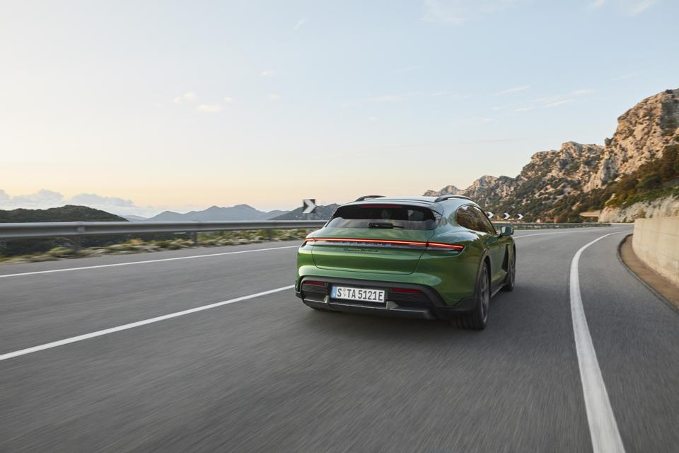 Porsche marketing hero color a green inspired by the Psychedelic Sixties.