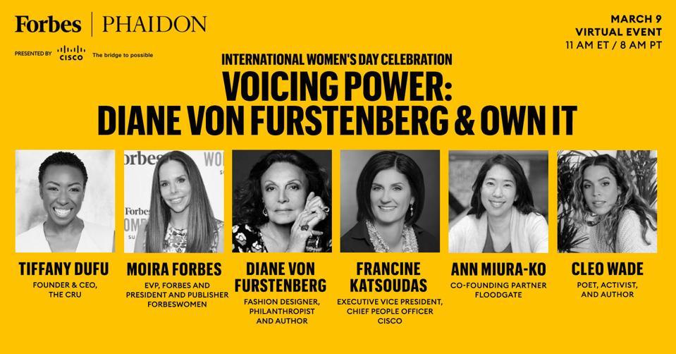 Forbes Hosts International Women's Day Celebration