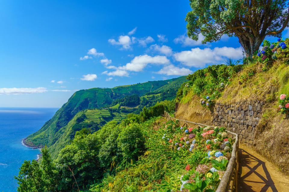 Panoramic of Azores, Portugal