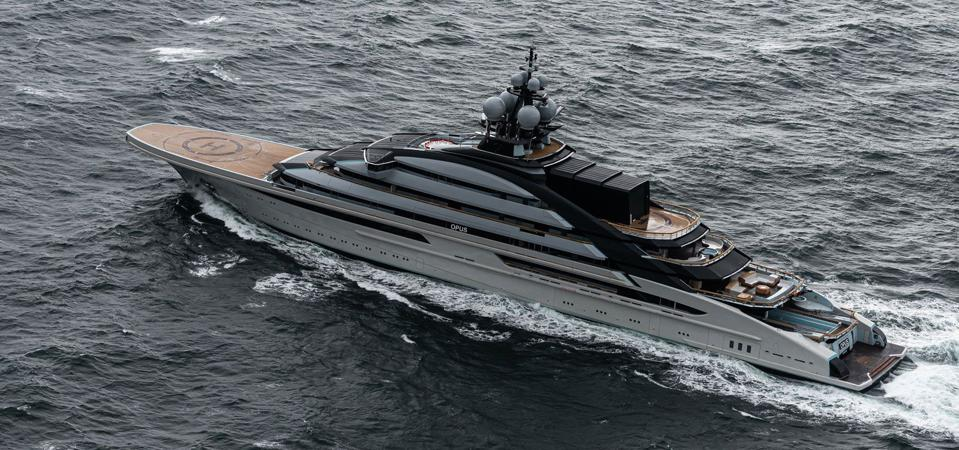 NORD is a 464 Superyacht that was launched recently.