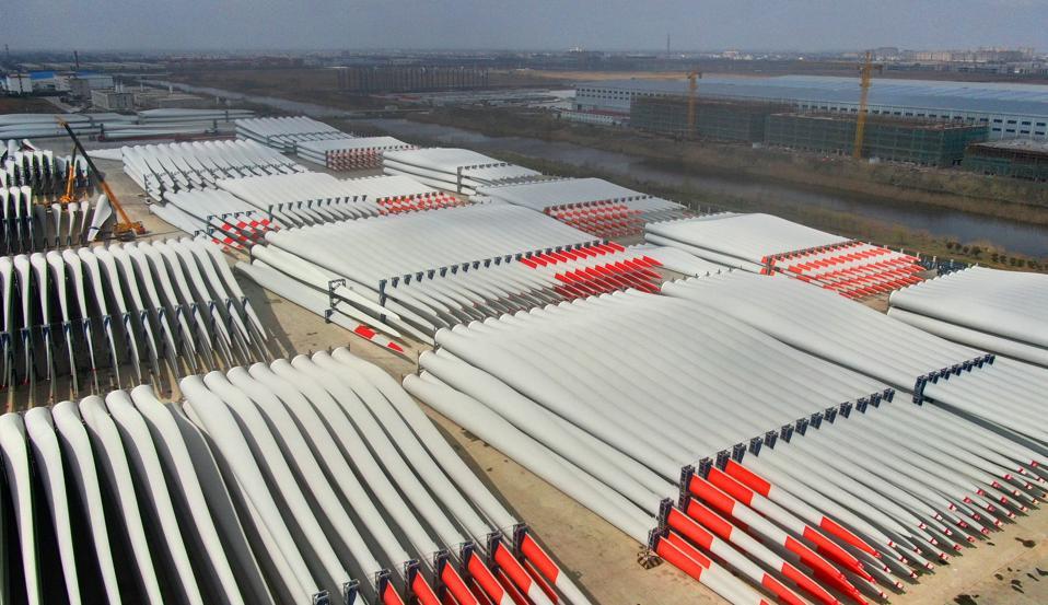 Wind Turbine Blade Manufacturing In Nantong