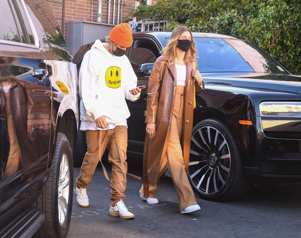 Celebrity Sightings In Los Angeles - November 19, 2020