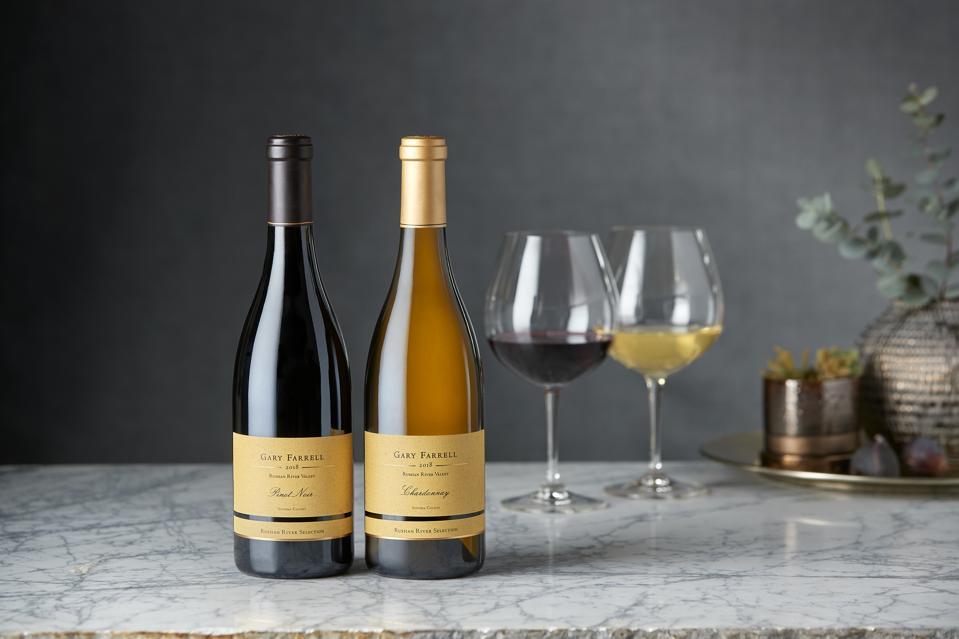 Gary Farrell Russian River Valley Pinot Noir and Chardonnay.