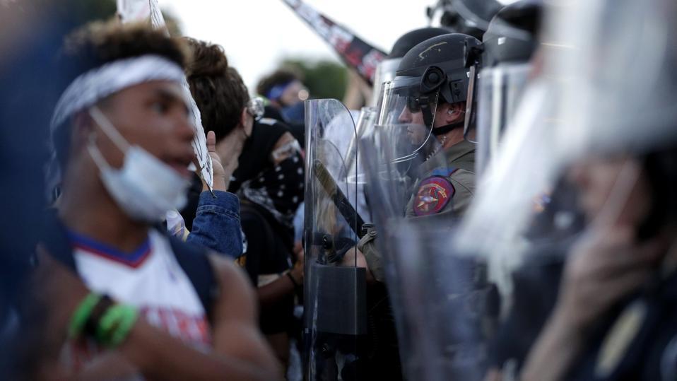 America Protests Austin