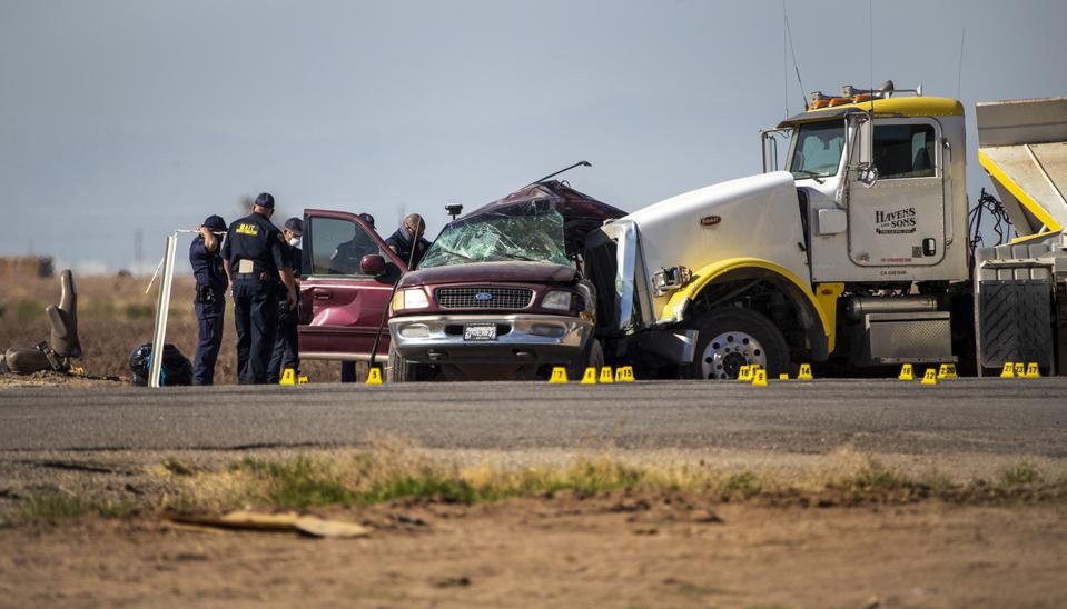 Mass fatality crash in Holtville, CA.
