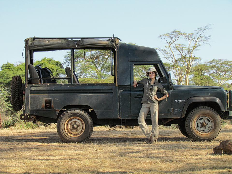 Dr. Gabby Wild, author of National Geographic's Wild Vet Adventures: Saving Animals Around the World with Dr. Gabby Wild
