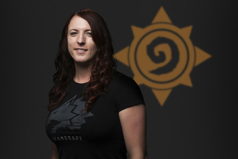 Hearthstone Game Designer Liv Breeden.