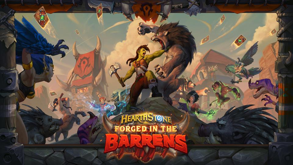 Forged in the Barrens is the first expansion in Hearthstone's new Year of the Gryphon.