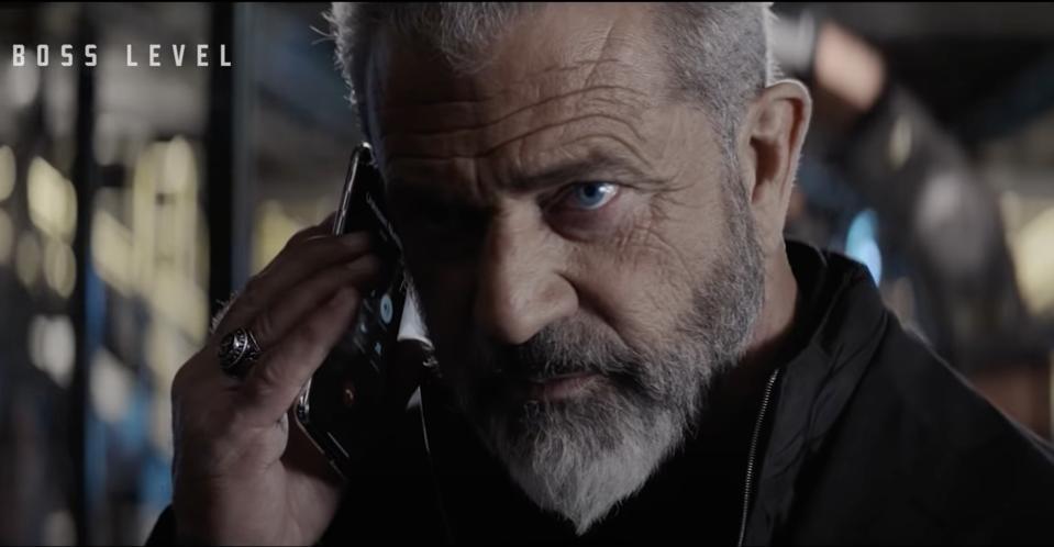 Mel Gibson in ″Boss Level.″