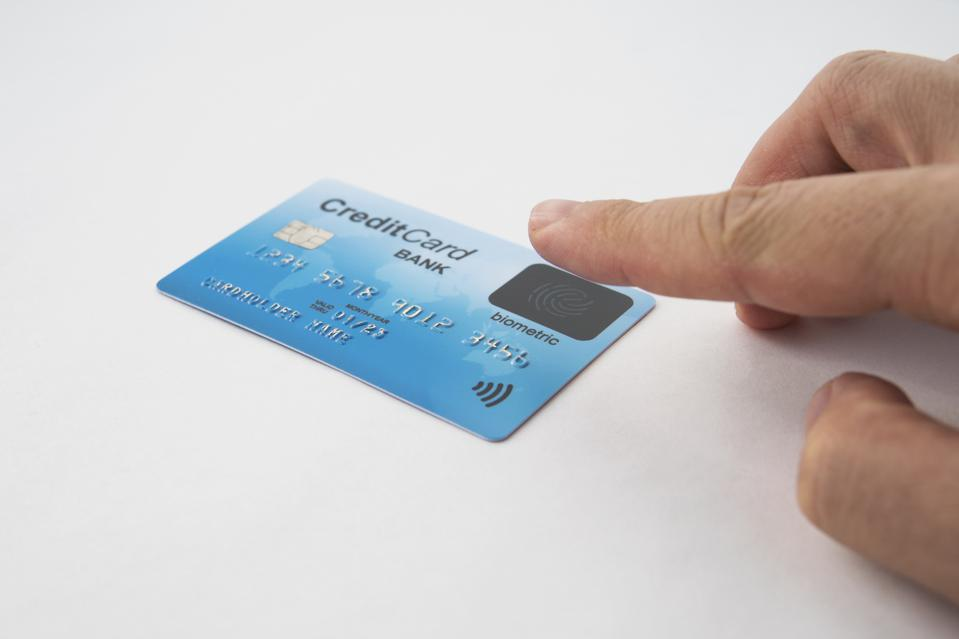 Mastercard and Samsung will introduce a biometric credit card with a built-in fingerprint scanner