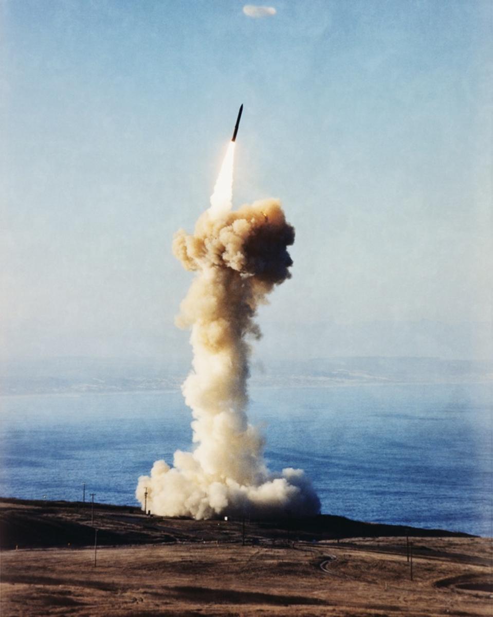 Minuteman III Rocket Launch
