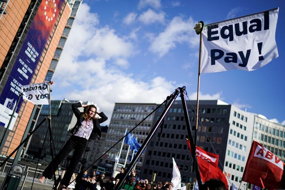 BELGIUM-EU-FINANCE-PAY-GENDER