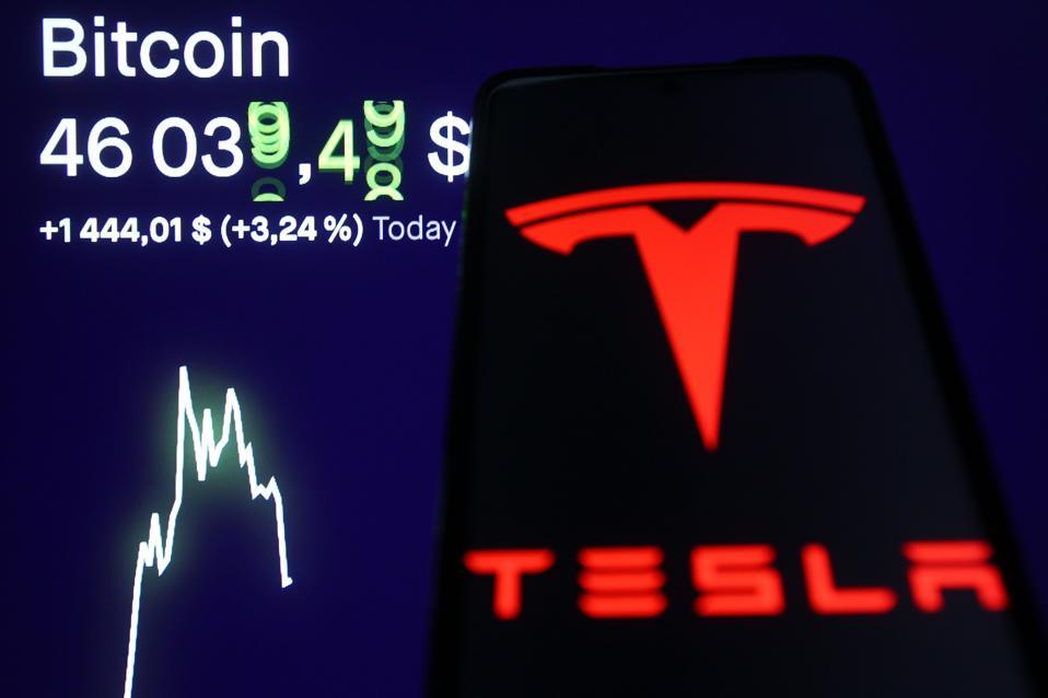 Tesla, Tesla stock, bitcoin, bitcoin price, image