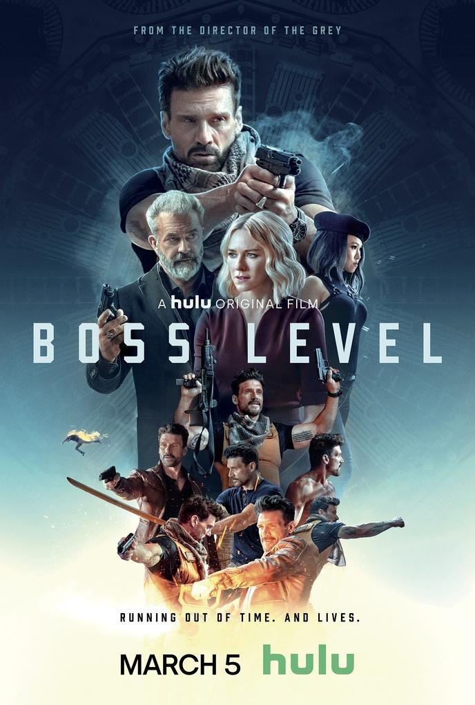 'Boss Level' poster