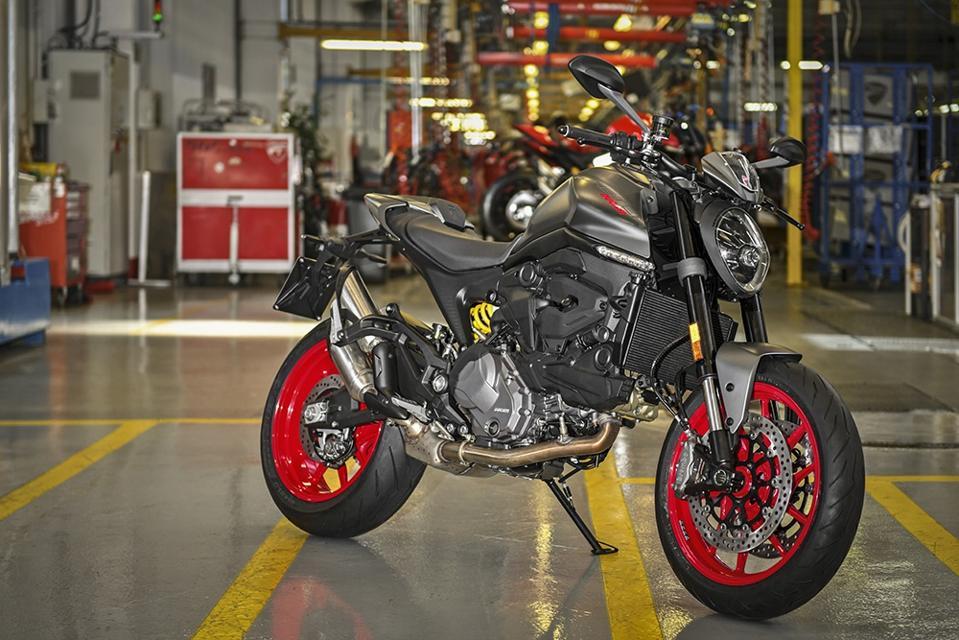 Ducati's new Monster.