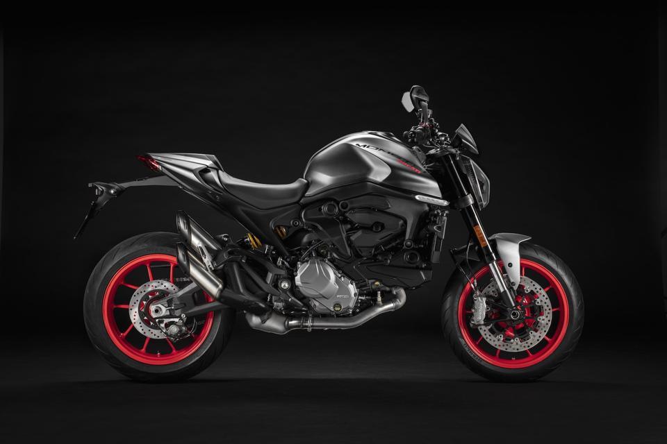 Ducati's revamped Monster.