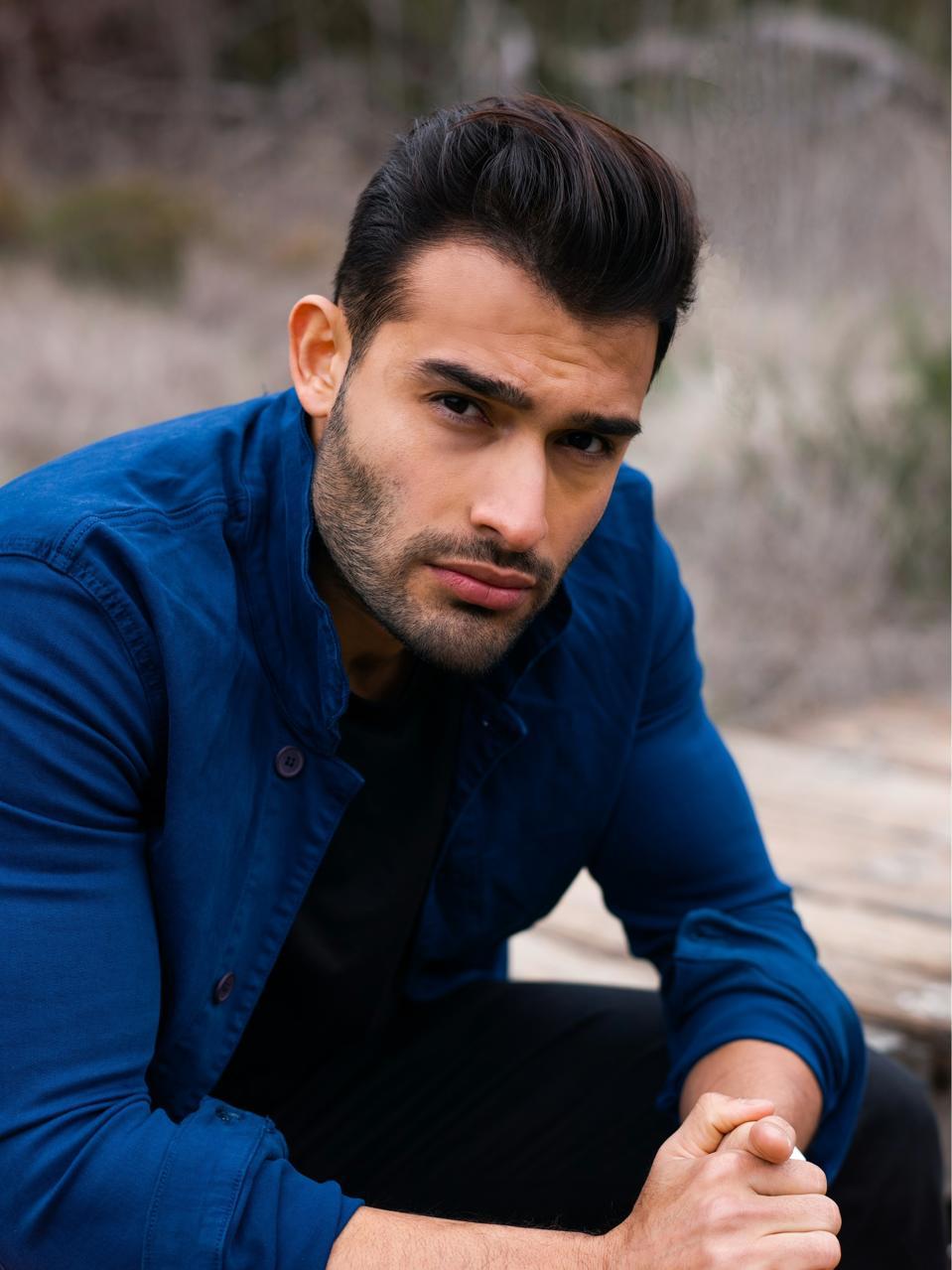 Sam Asghari photo shoot in 2021
