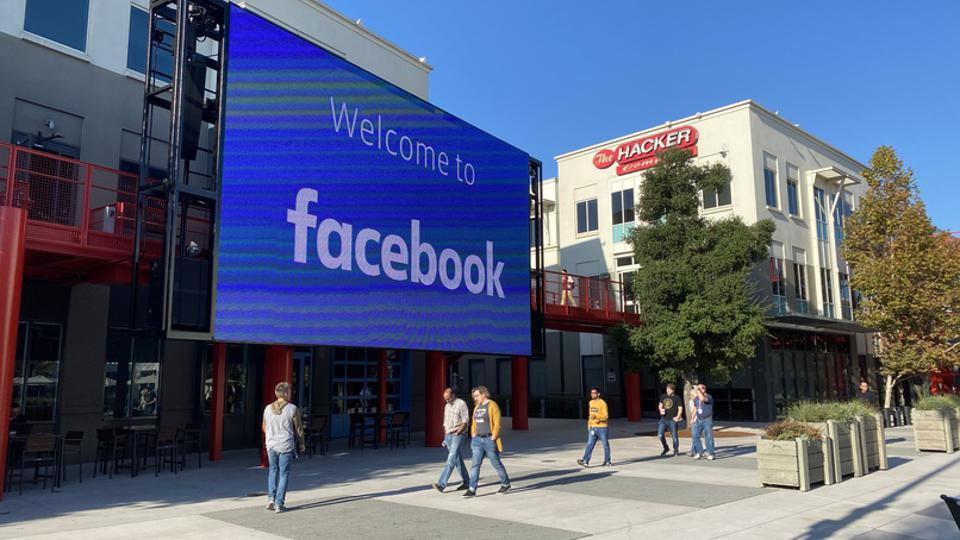 Facebook campus in Meno Park