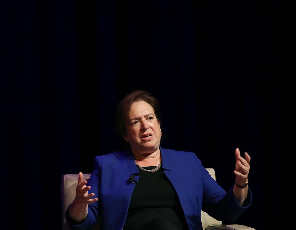 Supreme Court Justice Elena Kagan Speaks At George Washington University