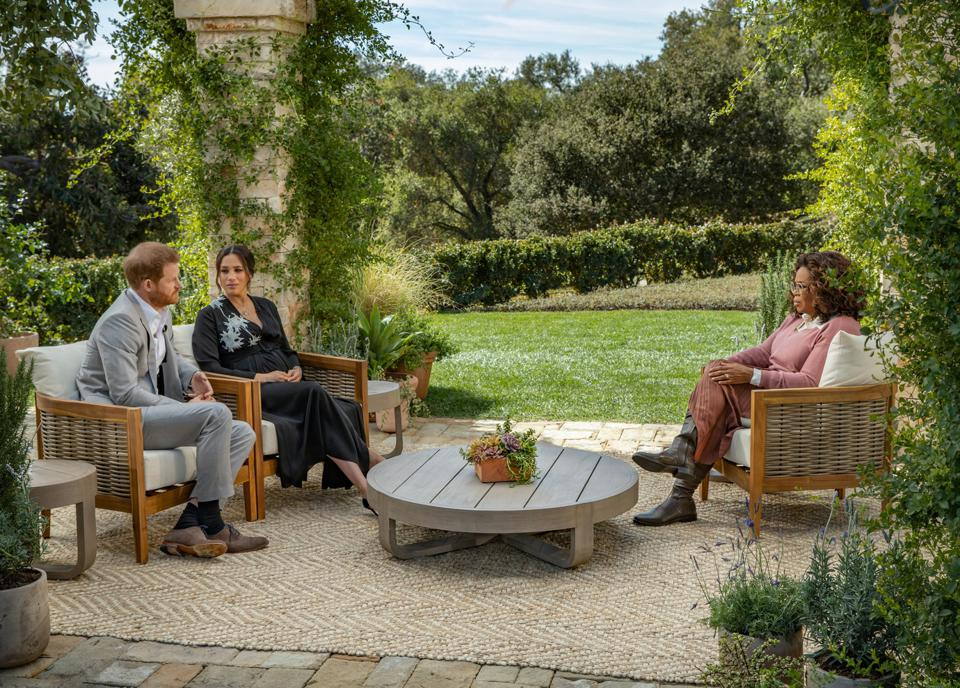 Oprah With Meghan And Harry: A CBS Primetime Special
