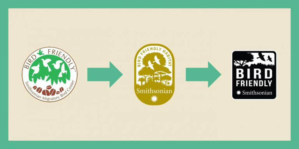 Bird Friendly® certification seals (Credit: Smithsonian Migratory Bird Center / CC0)