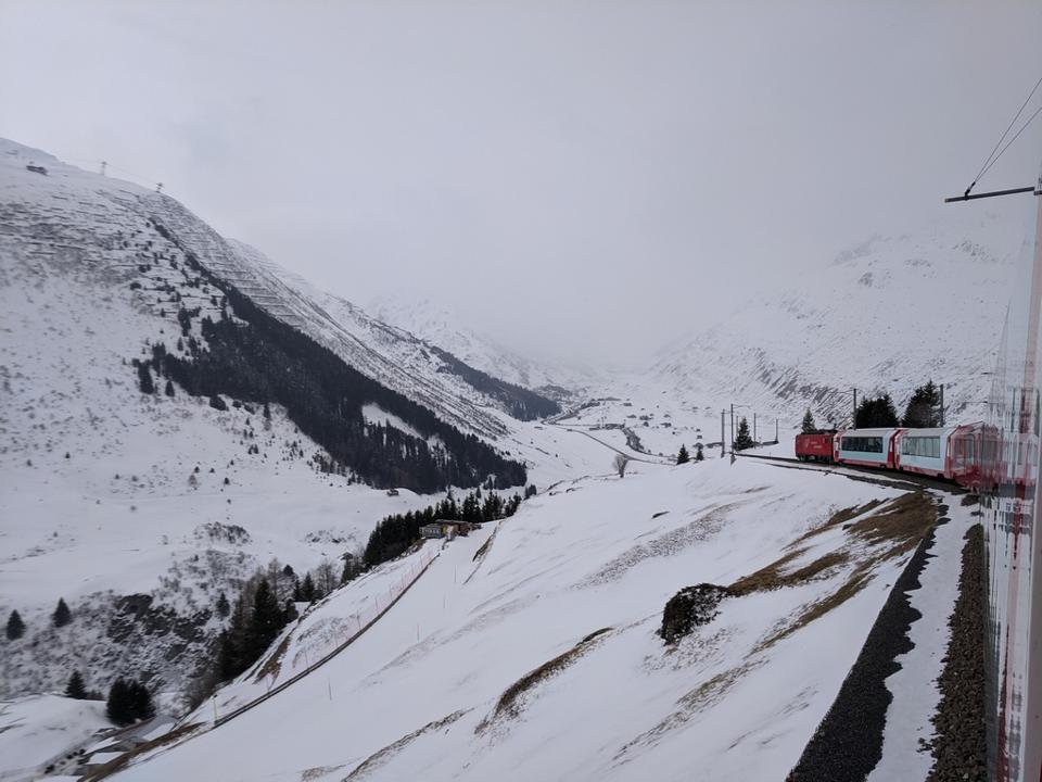 Le Glacier Express