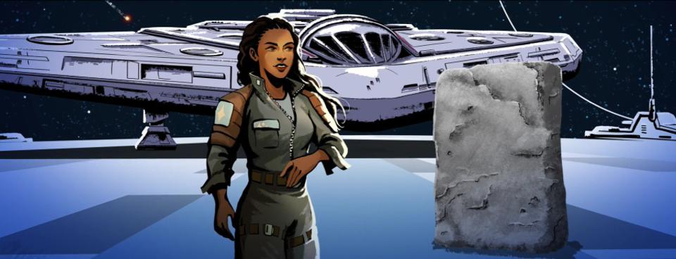 Meet the crew of The Vessel, co-piloted by Affie Hollow and navigated by Geode, who appears to be a rock.