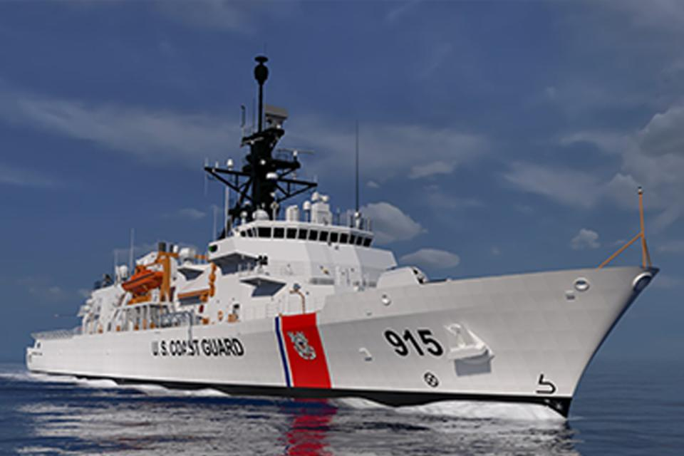 The Heritage class Offshore Patrol Cutter.