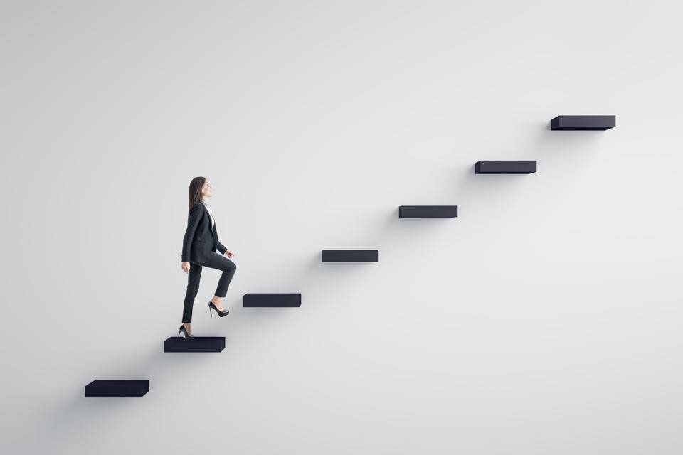 Leadership and career development concept