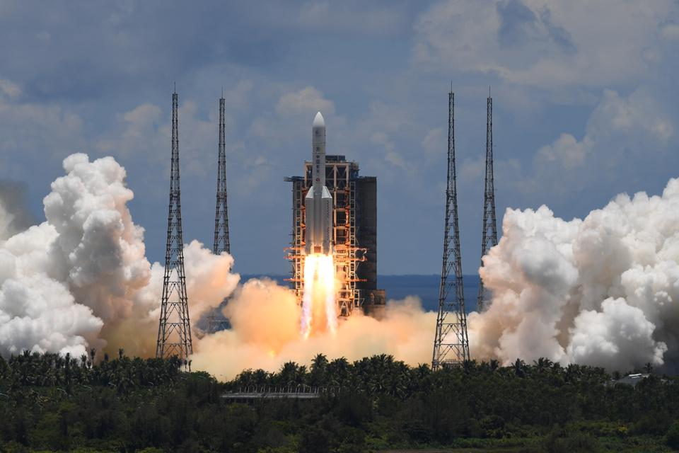 On July 23, 2020, a Long March-5 rocket carried the Tianwen-1 mission into space.