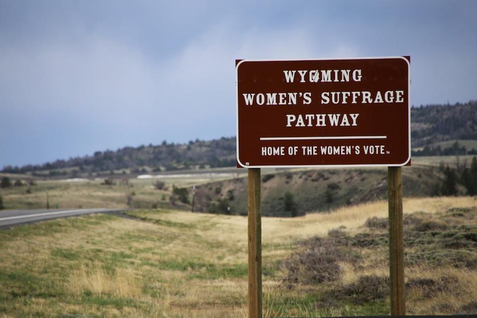 Wyoming Women's Suffrage Pathway