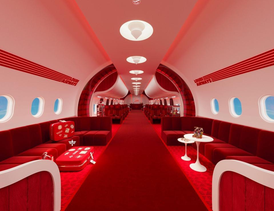 Christian Louboutin. AW21. Loubi Airways.