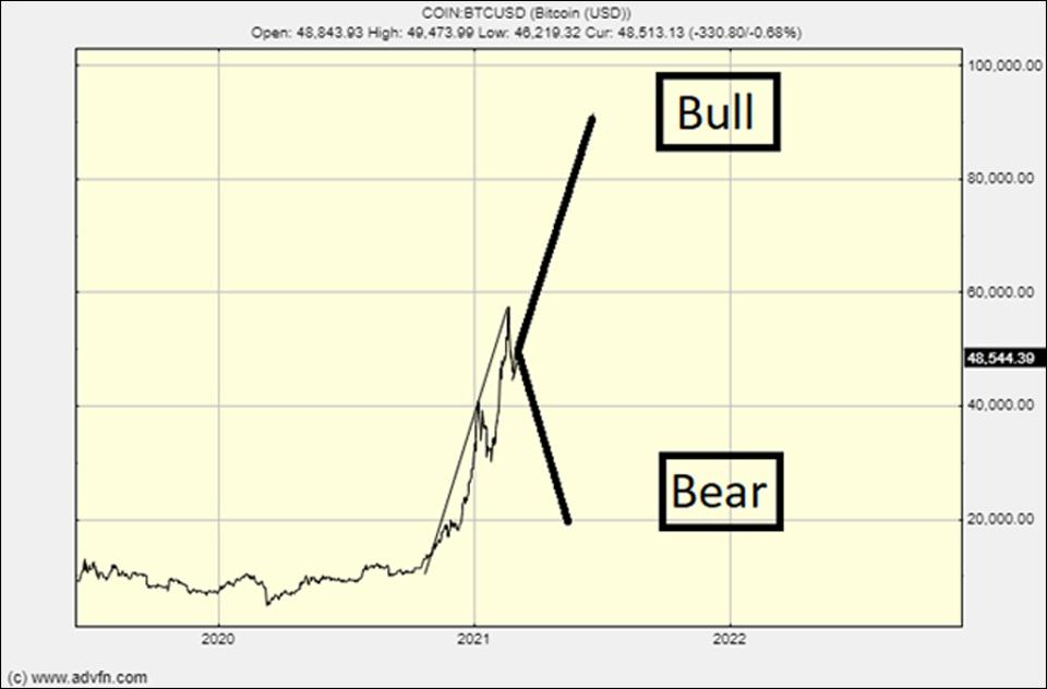 The bull and bear case for bitcoin