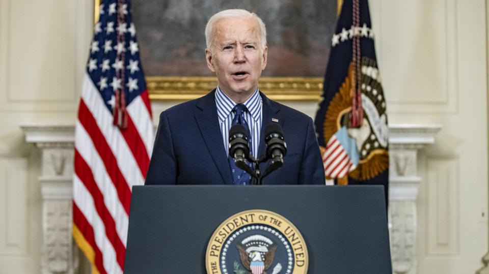 President Biden Speaks Following Passage Of The American Rescue Plan