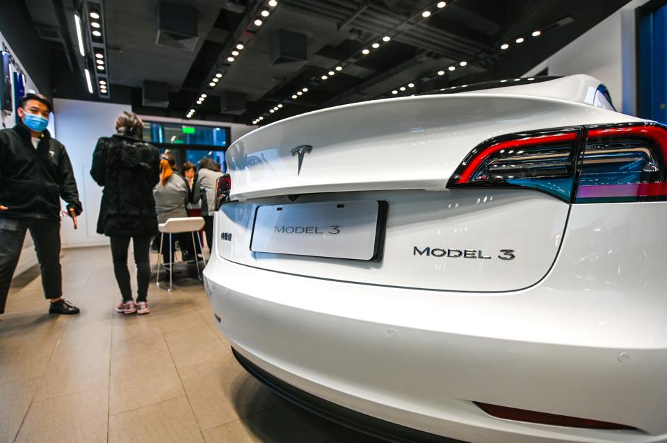 The Tesla Model 3 claims second place in the German EV market in February.