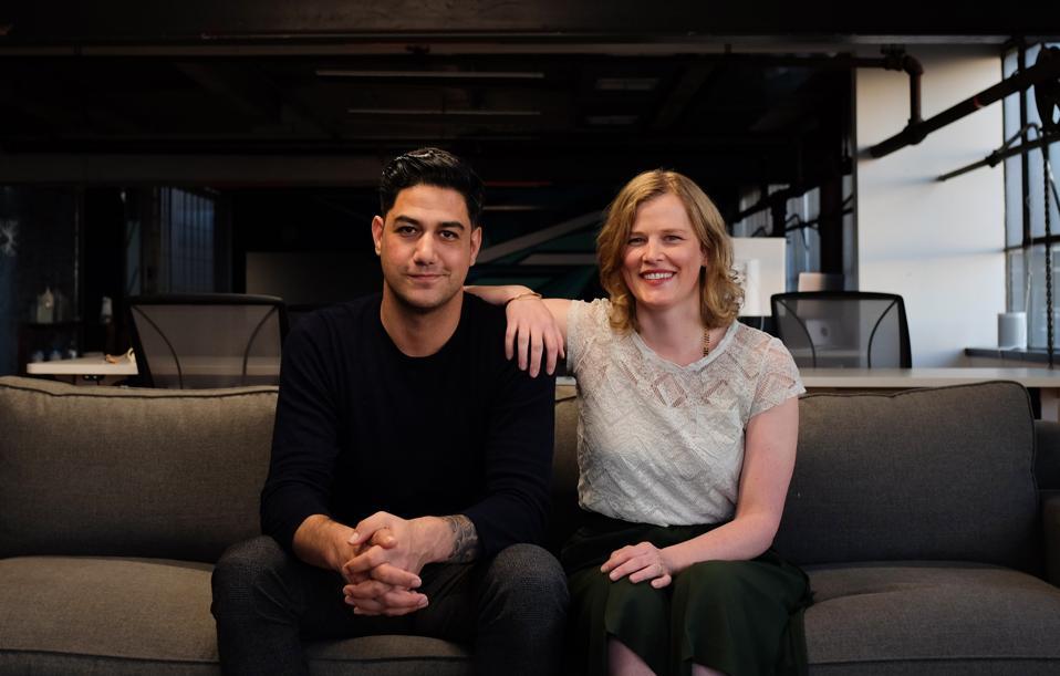Entrepreneurs Niji Sabharwal and Jenn Knight