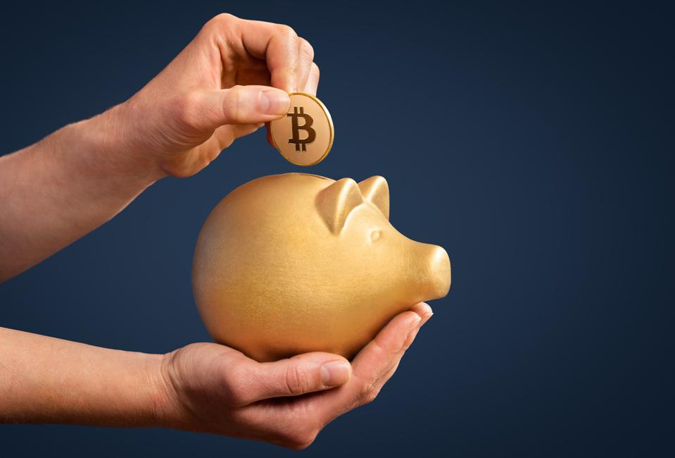 Investing savings in Bitcoin is gold