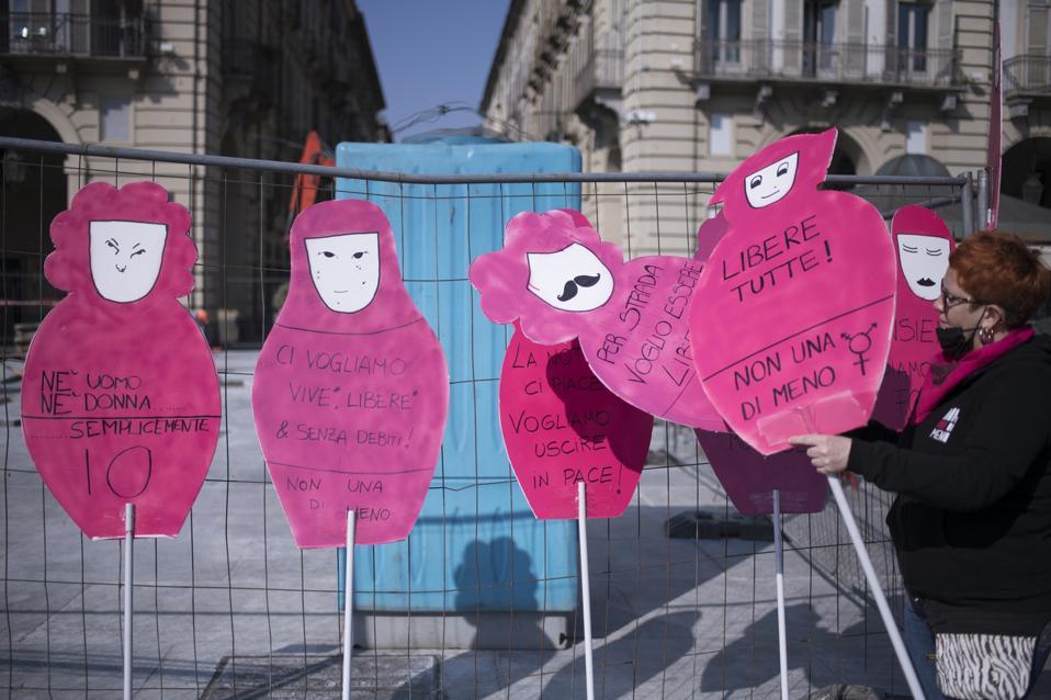 International Women's Day In Turin