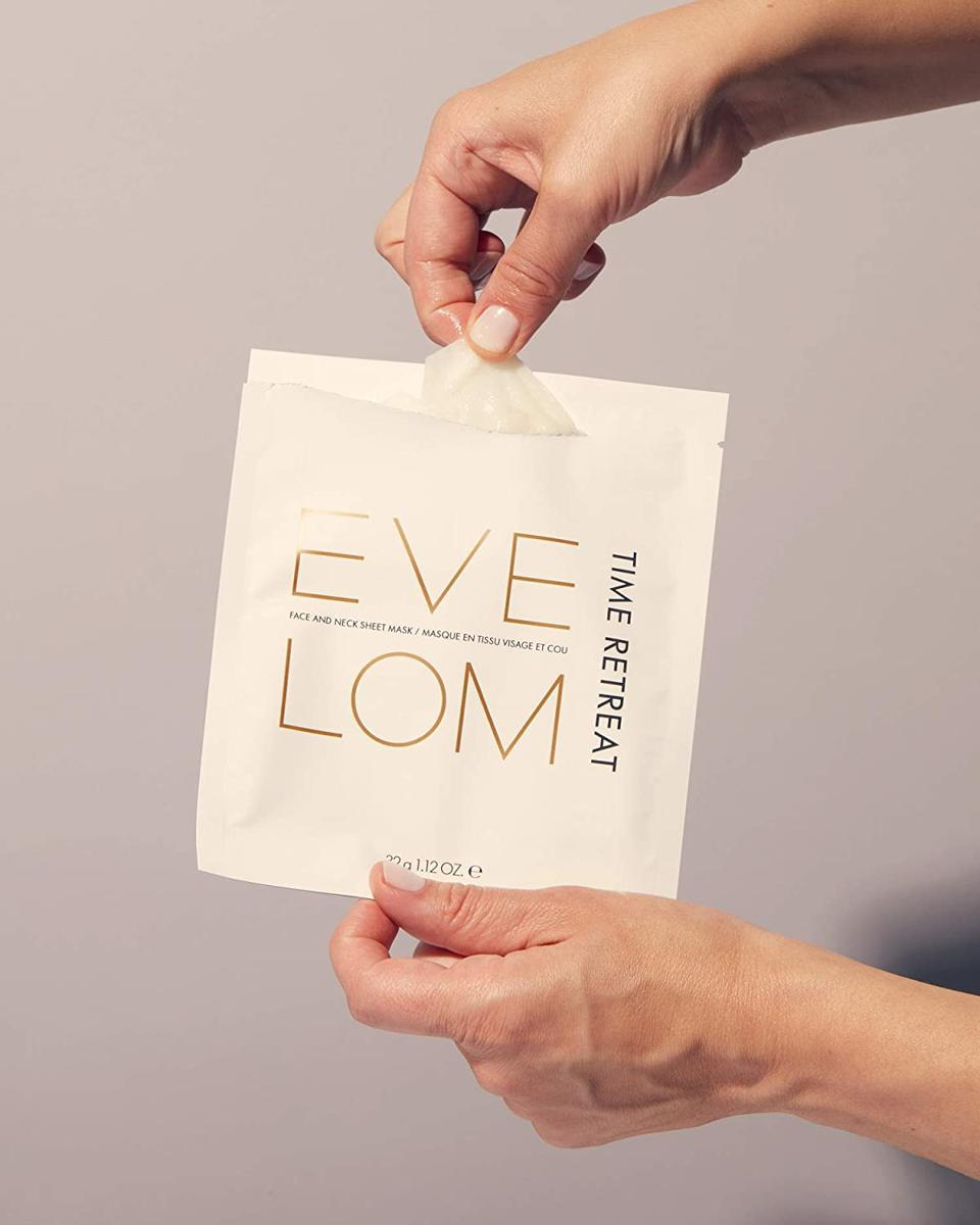 Eve Lom Time Retreat Face and Neck Masks (Set of 4)
