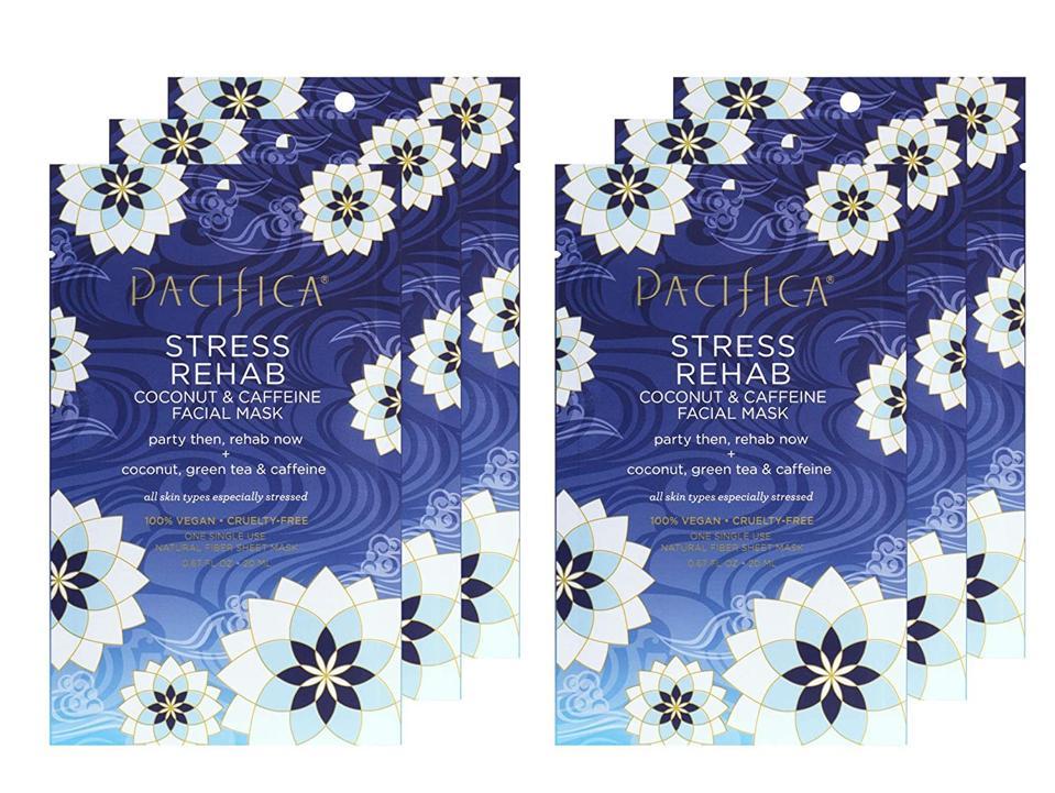 Pacifica Beauty Stress Rehab Hydrating Facial Sheet Mask (Set of 6)